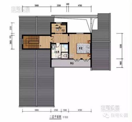 5x11.1米 建筑面积:227.4平方米 长x宽:19x18.
