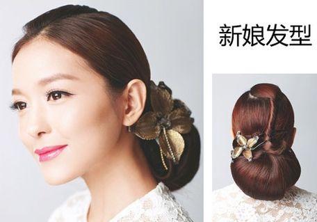 2016新娘发型]2016中式新娘发型
