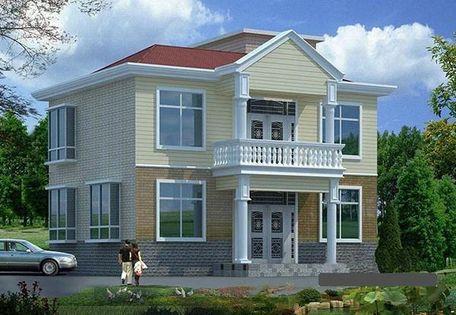 乡村别墅设计图纸 三层自建别墅效果图 乡村别墅设计图纸